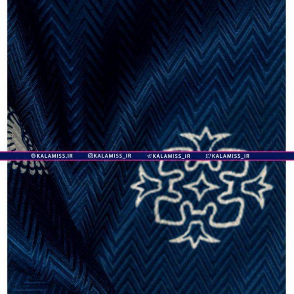 روسری ابریشم هرمس دست دوز مدل پرشین فوگ