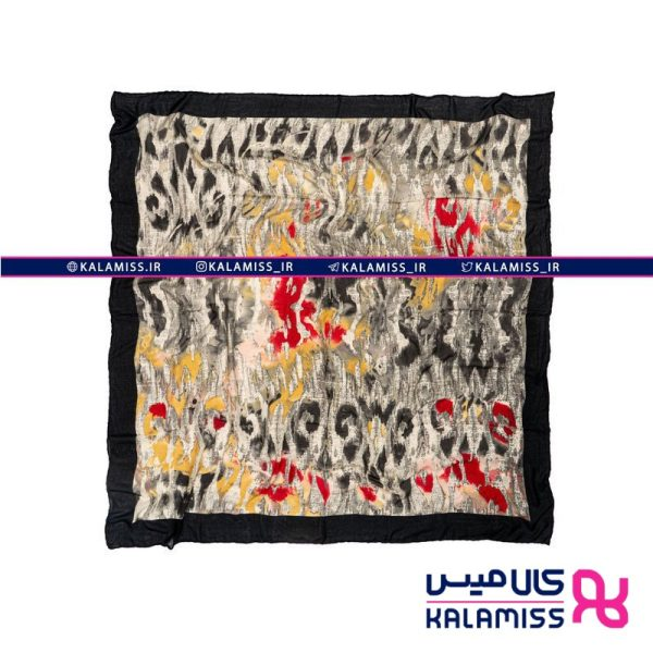 روسری نخی گارزا مدل تایگر پینات