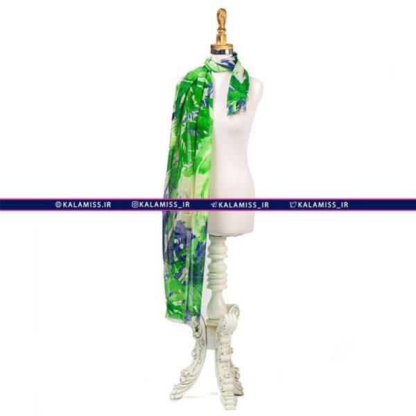 شال نخی حاشیه لیلیان مدل والستر شامروک