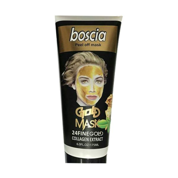 گلد ماسک صورت طلا بوسکیا Boscia gold mask حجم 175 میلی لیتر