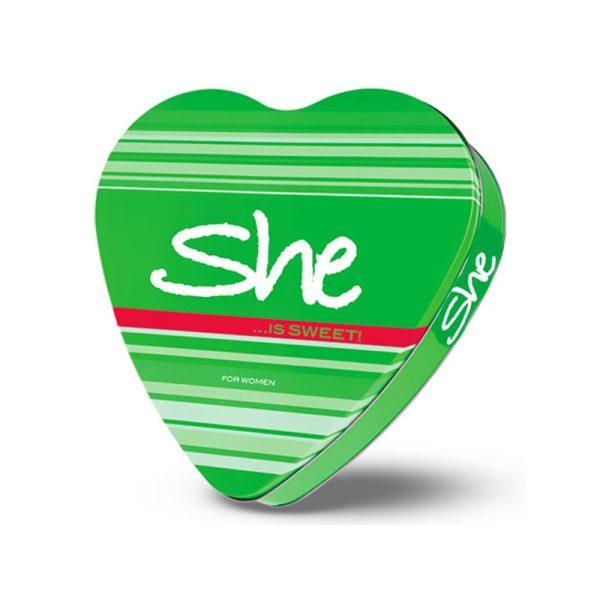 ست کادویی زنانه سه تکه شی مدل SWEET(ادوتویلت+اسپری+لوسیون) She Sweet Eau De Toilette Gift Set For Women-3PCS