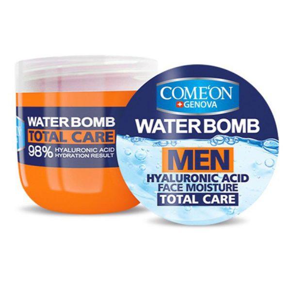 ژل کرم بمب آبرسان کامان مناسب آقایان حجم ۲۰۰ میل Comeon Water Bomb Men Face Moisture 200ml