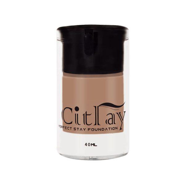 کرم پودر سیترای مدل Perfect Stay Foundation حجم 40 میل شماره 102 Citray Perfect Stay Foundation 40 ml No 102