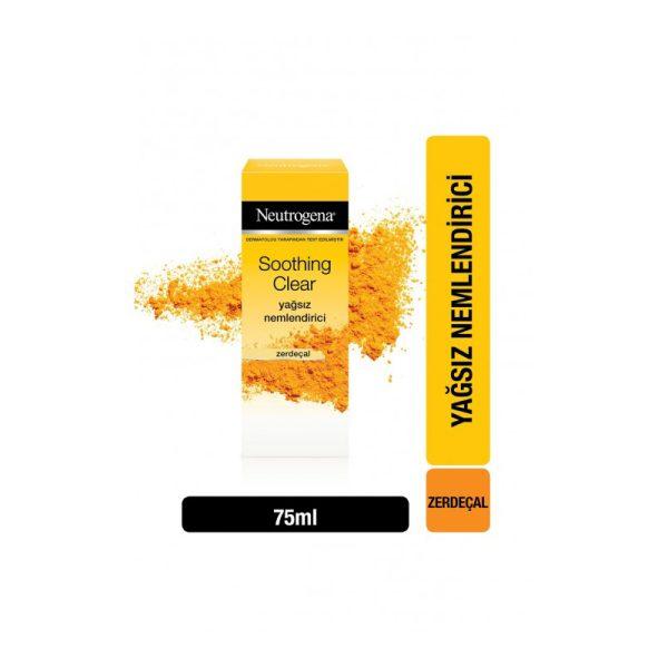آبرسان زرد چوبهای تسکین دهنده نوتروژینا Neutrogena Soothing Clear