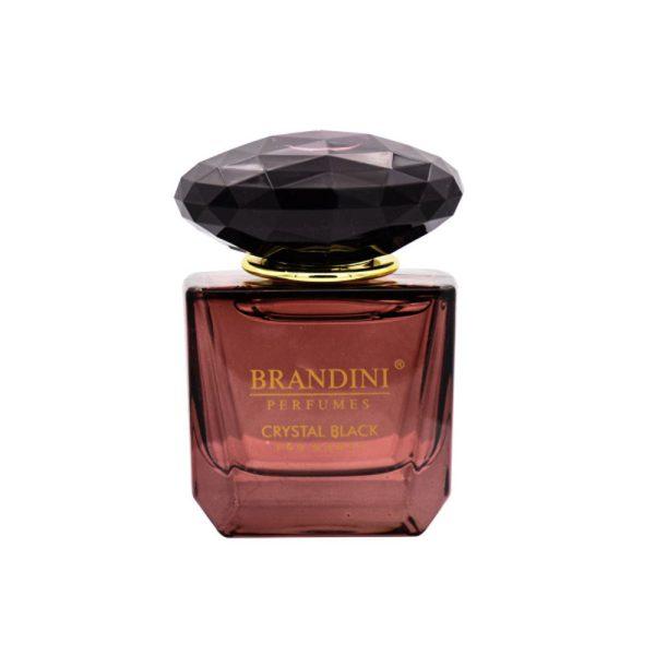 عطر جیبی زنانه برندینی Brandini مدل Crystal Black حجم 25 میلی لیتر
