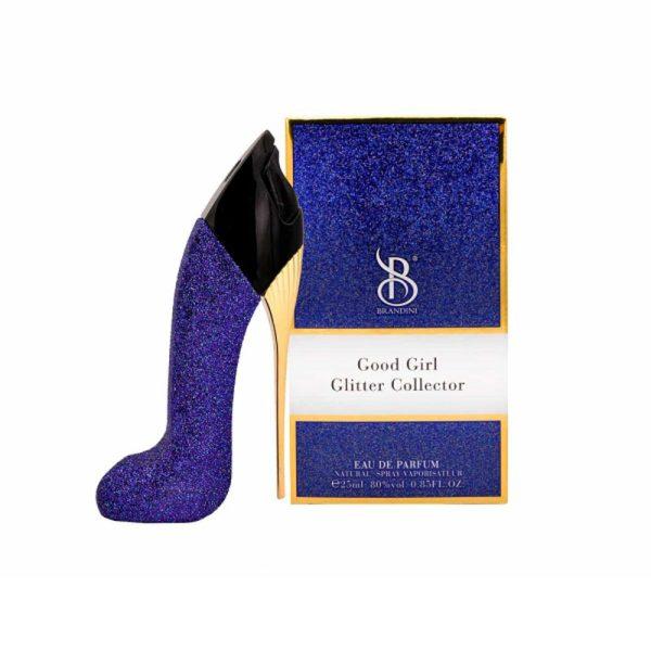 عطر جیبی زنانه برندینی Brandini مدل Good Girl Glitter Collector حجم 25 میلی لیتر